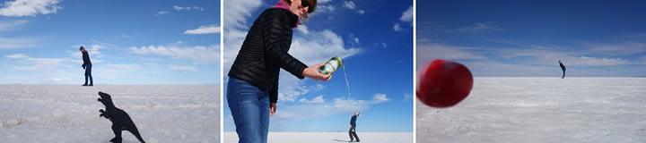 Salar de Uyuni Foto Effekte Fail