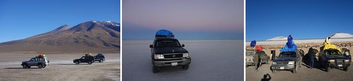 Salar de Uyuni Tour Jeeps
