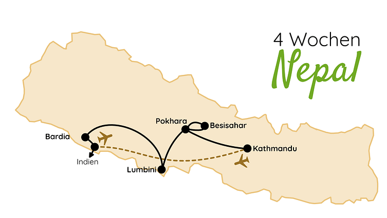 Nepal Route