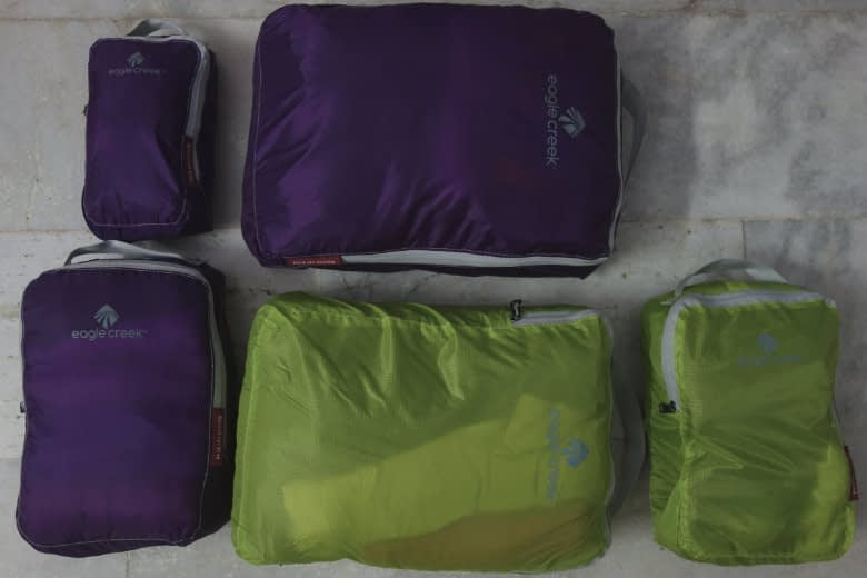 Packliste Packing Cubes