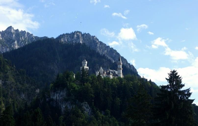Wanderung Tegelberg Schloss Neuschwanstein