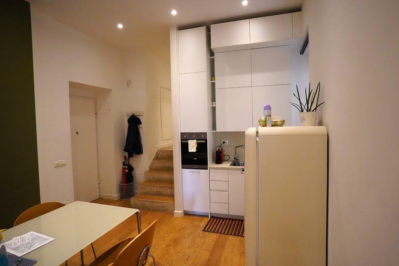Rom Apartment Küche
