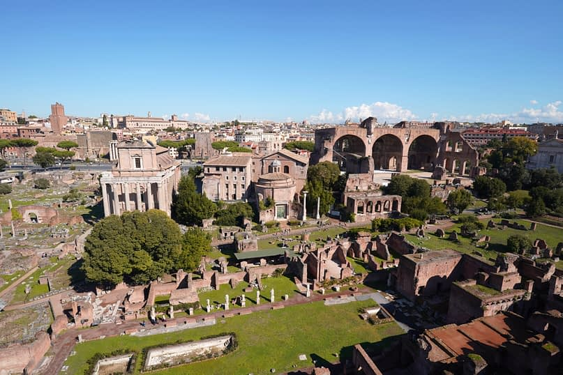 Forum Romanum Aussichtspunkt