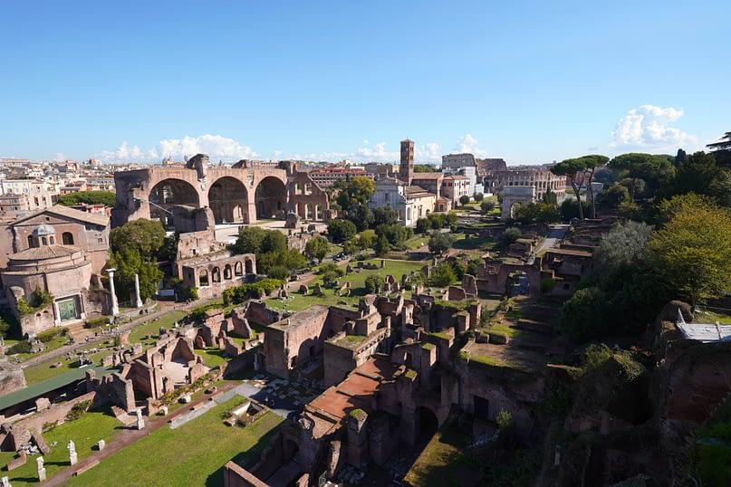 Rom Forum Romanum und Kolosseum