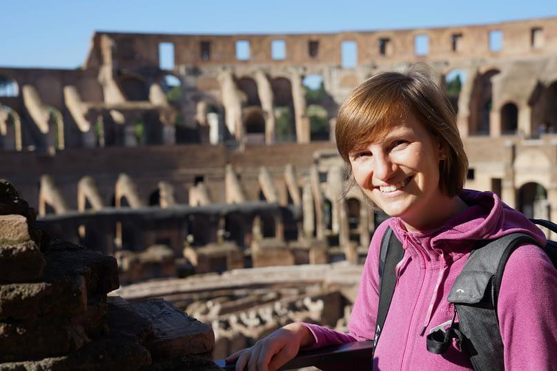 Rom Kolosseum Franzi