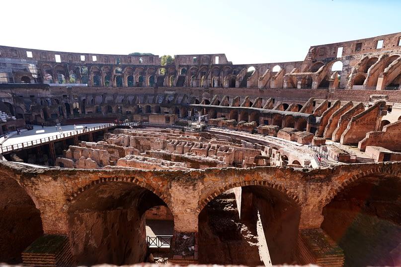 Rom Kolosseum Innenansicht