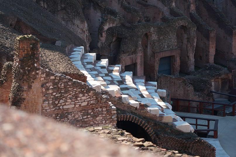 Rom Kolosseum Tribüne