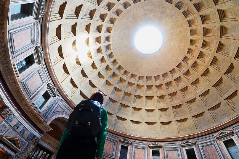 Rom Pantheon Franzi Kuppel
