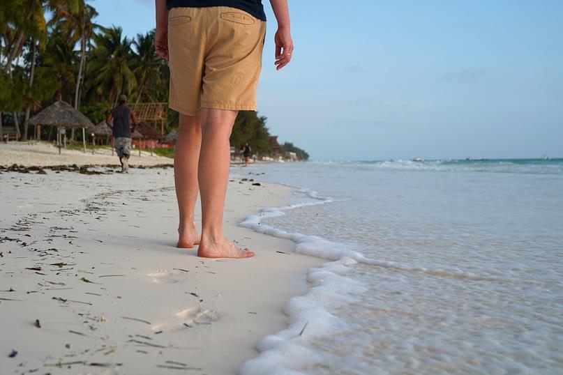 Paje Strand Spaziergang