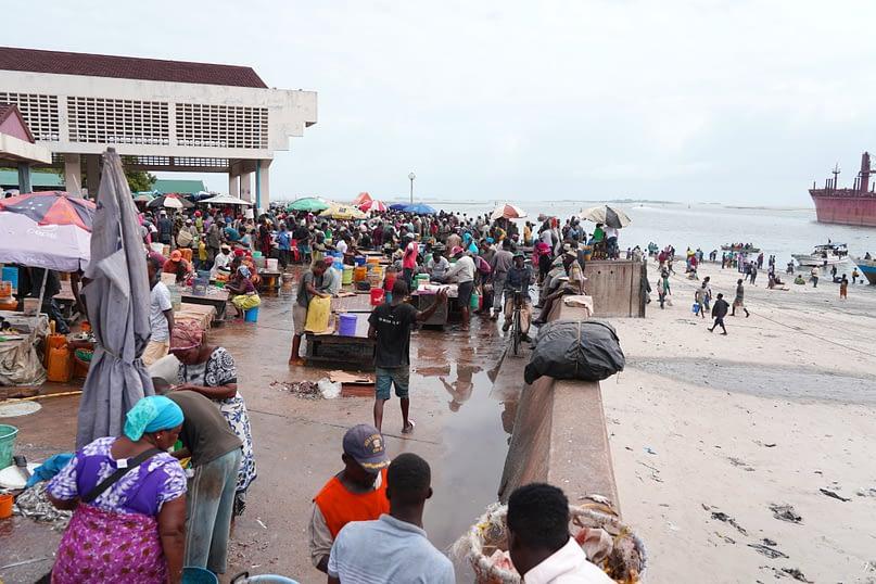 Dar Es Salaam Mzizima Fischmarkt