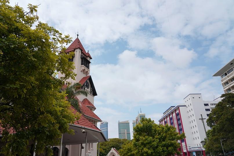 Daressalam Azania Front Kirche