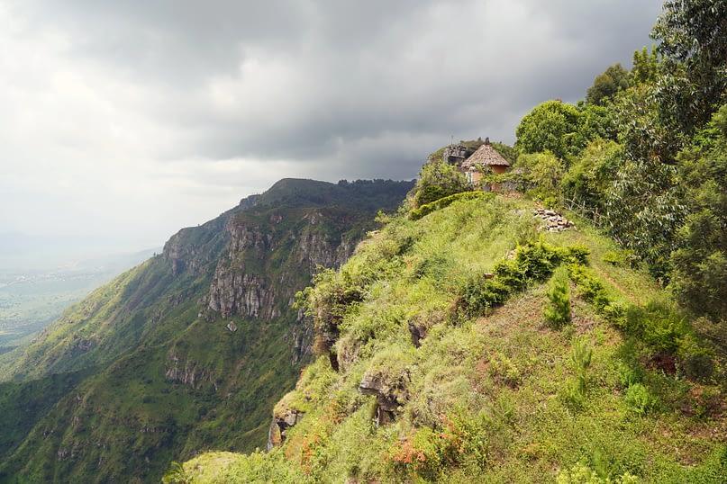 Lushoto Wanderung Irene View Point
