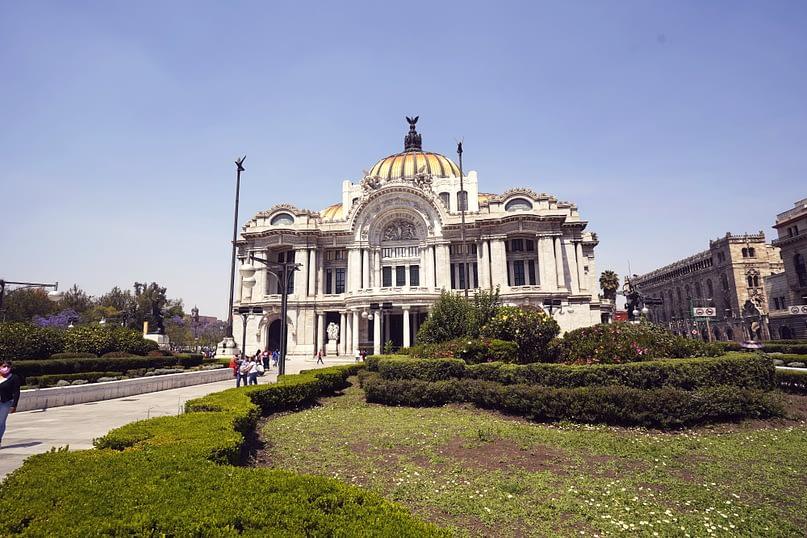 Mexico City Bellas Artes