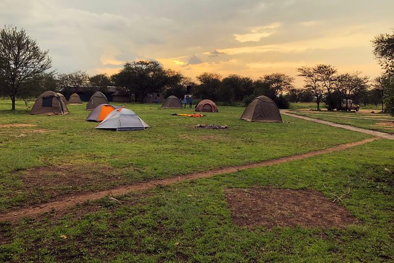 Serengeti Campingplatz