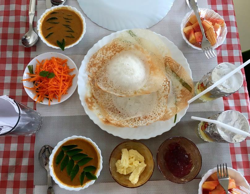 Kochi Frühstück