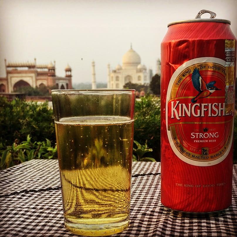 Agra Taj Mahal Bier
