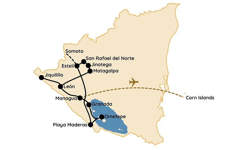 Nicaragua Route Reisetipps