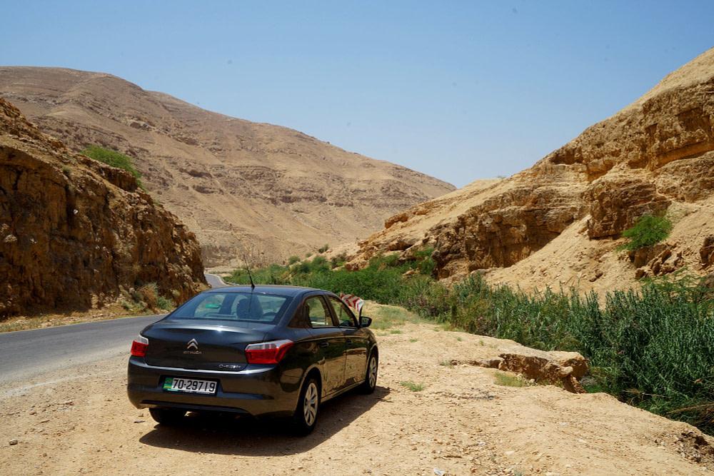 Jordanien Rundreise Mietwagen