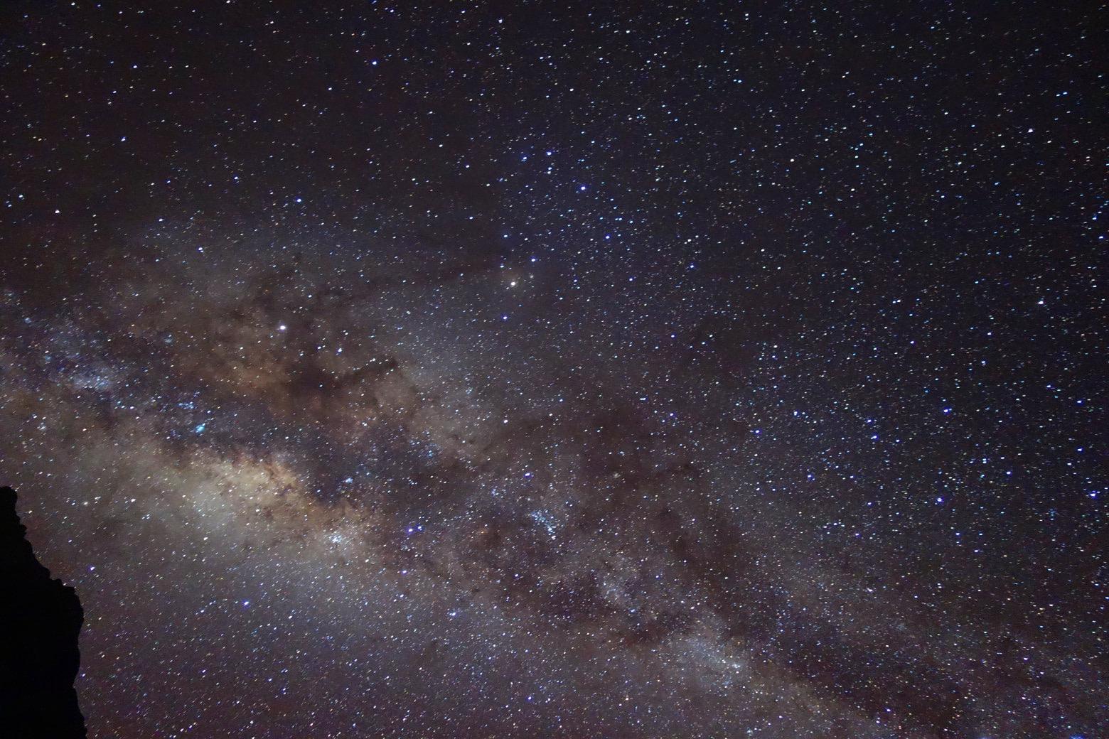 Salkantay Trek Sternenhimmel