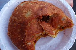 Indien Essen Streetfood Frittiertes