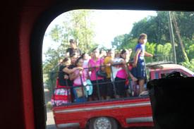 Guatemala Transport Massentaxi