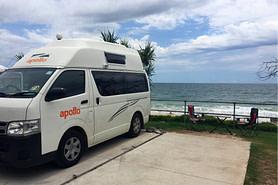 Australien Camper Meer