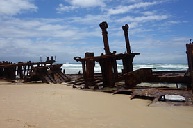 Fraser Island Schiffswrack