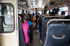 Sri Lanka Reisetipps Transport Bus innen