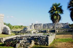 Tulum Maya Ruinen Gelände