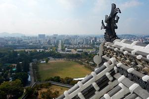 Himeji Blick auf die Stadt