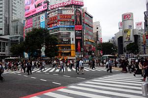 Tokio Shibuya Kreuzung