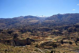 Colca Canyon Landschaft