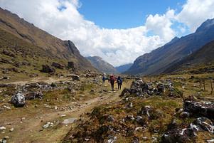 Salkantay Trek Wanderweg