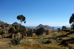 Titicacasee Fernblick