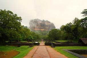 Sigiriya Löwenfels mit Gärten