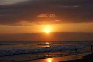 Bali Canggu Sonnenuntergang Meer
