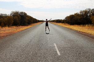 Outback Straße Franzi