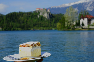 Slowenien Reisetipps Bleder Cremeschnitte