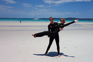 Whitsunday Islands Stinger Suits Paar