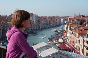 Venedig Blick von Dachterrasse Tedeschi Franzi