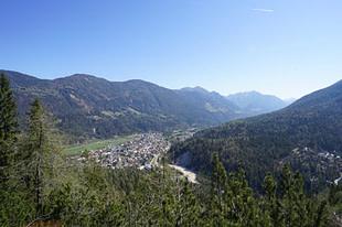Kranjska Gora Blick vom Berg