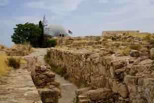 Amman Ummayad Palast Gelände