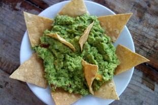 Mexiko Essen Guacamole