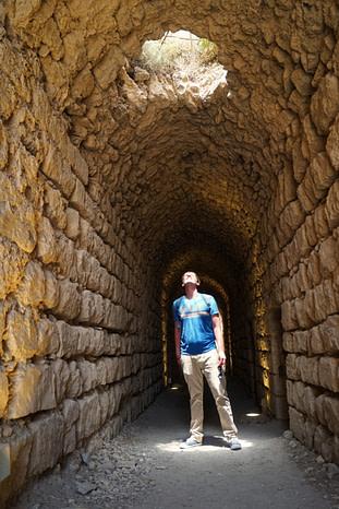 Karak Castle Tunnel Matthias