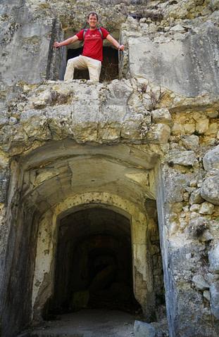 Soca Tal Fort Herman Matthias in Ruine
