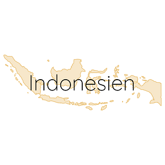 Indonesien Karte