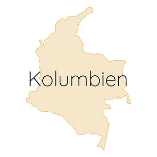 Kolumbien Karte
