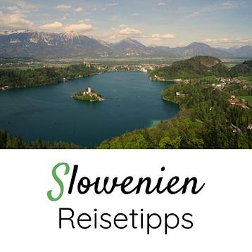 Slowenien Reisetipps Grafik