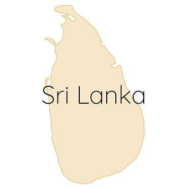 Sri Lanka Karte