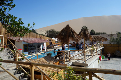 Huacachina Hotel Pool